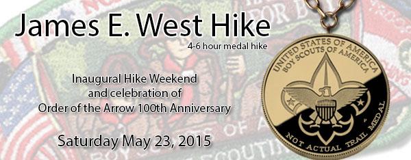 James E West Hike